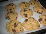 Peanut Butter and Chocolate Chip Cookies