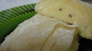 Sliced Custard Log