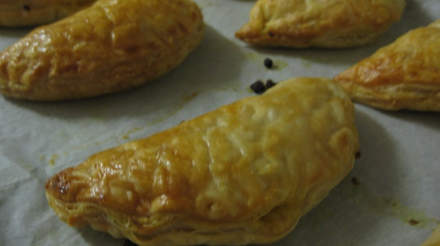 Vegetable Curry Pastie