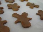 Unbaked Gingerbread Men