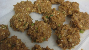 Uncooked Refried Bean Patties