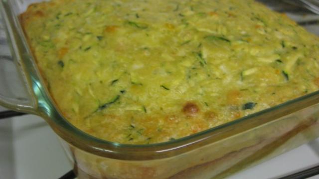 Baked Vegetarian Zucchini Slice