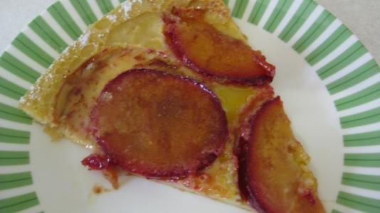 Slice Baked Plum Pancake