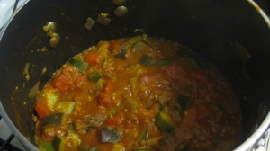 Cooked Ratatouille Mix
