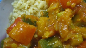 Ratatouille with Rice
