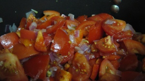 Tomato, Onion, Capsicum Mix