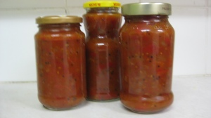 Bottled Tomato Chutney