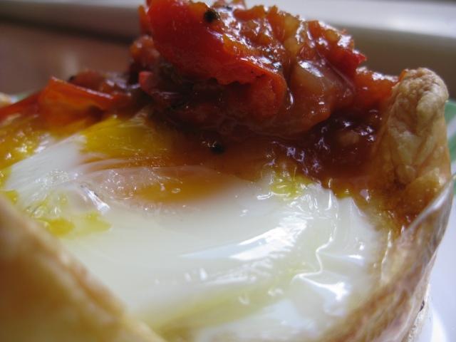 Individual Egg Pie