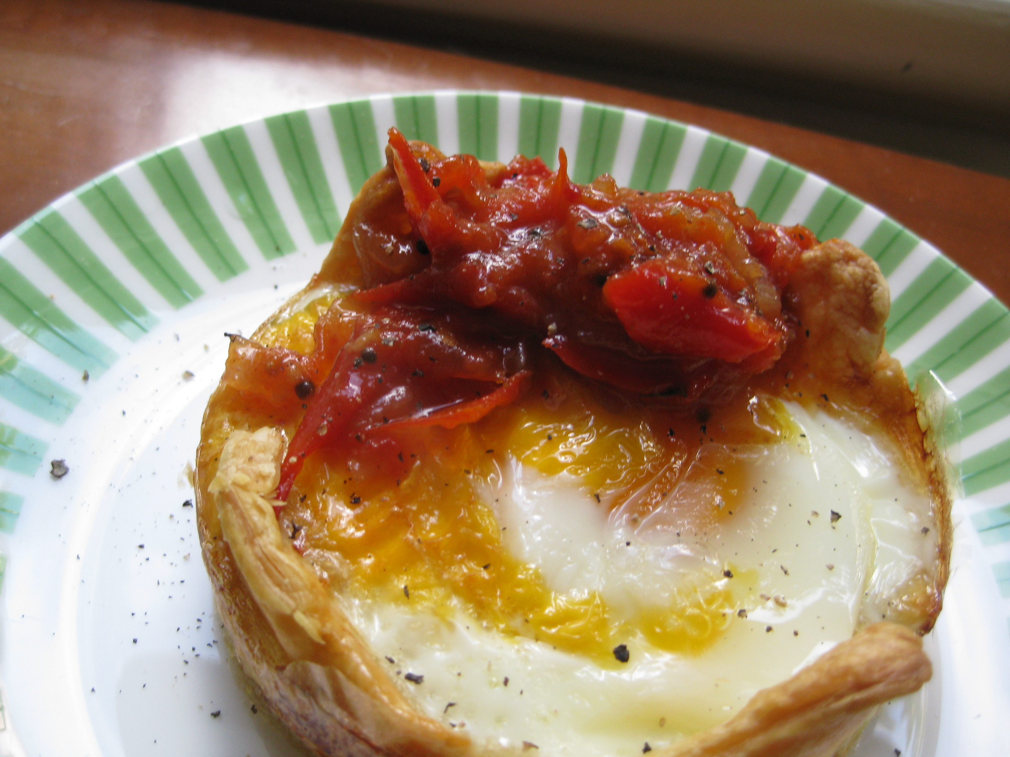 Individual Baked Egg Pies | To Serve, With Love