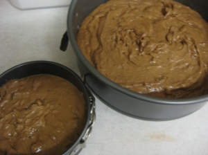 Unbaked Chocolate and Marmalade Cake