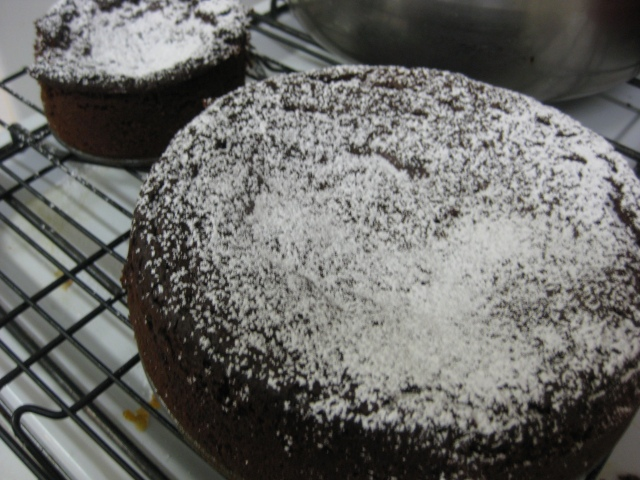 Chocolate and Marmalade Cakes