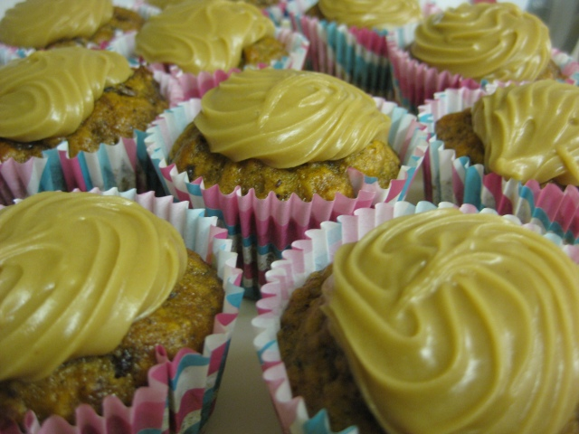 Sticky Date Cupcakes with Caramel Frosting 2