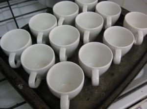 Prepared Espresso Cups