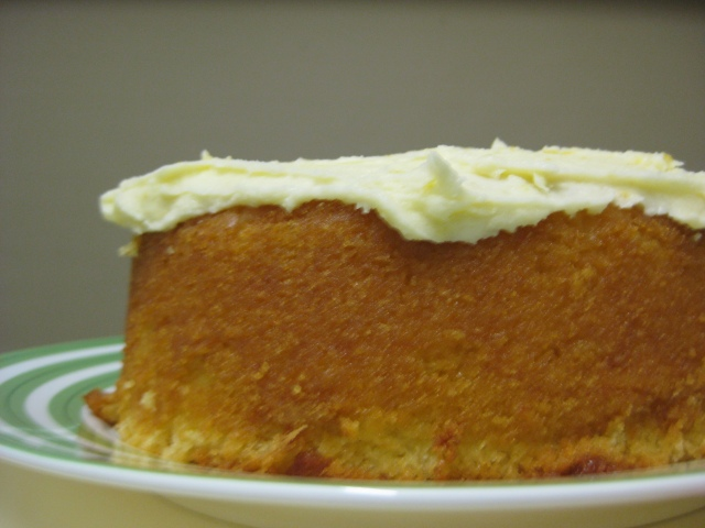Lemon and Buttermilk Cake with Verjuice and Lemon Icing