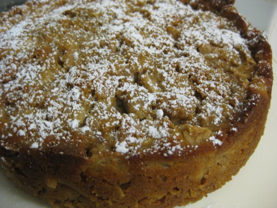 Spiced Pear Cake