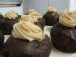 Iced Pumpkin and Chocolate Cupcakes