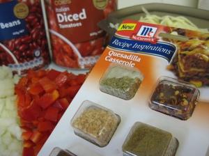 Spices Quesadilla Casserole