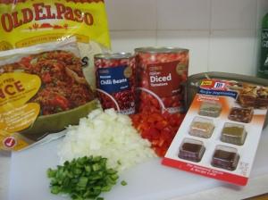 Quesadilla Casserole Ingredients
