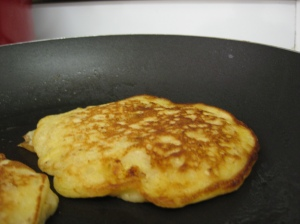 Cooked Banana and Oat Pancakes