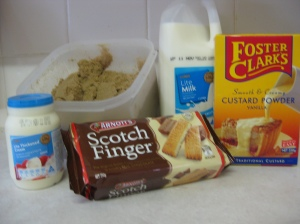 9 Minute Caramel Slice Ingredients